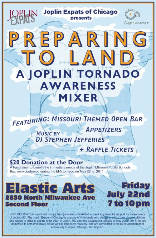 Chicago Fundraising Event for Joplin Tornado Victims JULY 22, 2011