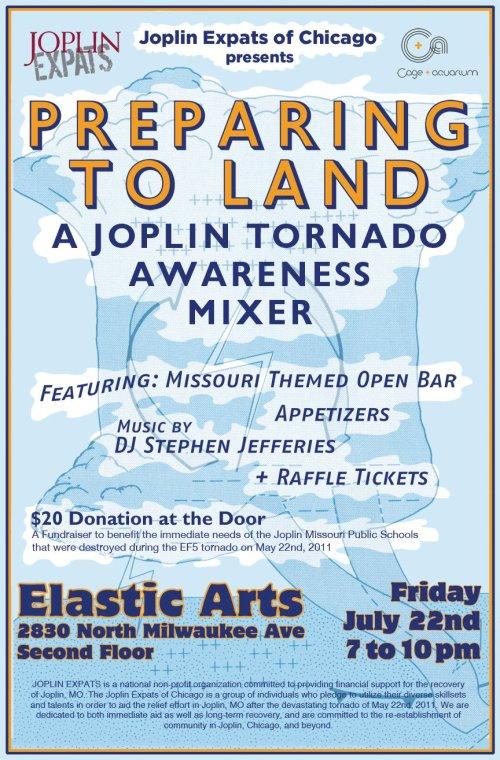 Chicago Fundraising Event for Joplin Tornado Victims JULY 22, 2011