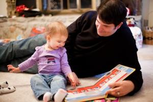 Tyler Huffman and His Daughter Ella