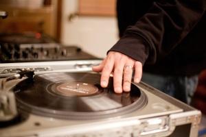Tyler Huffman: Spinning in Preparation for His BBC Joplin Fundraiser